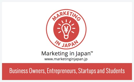 Marketing in Japan™ meetup business card side two